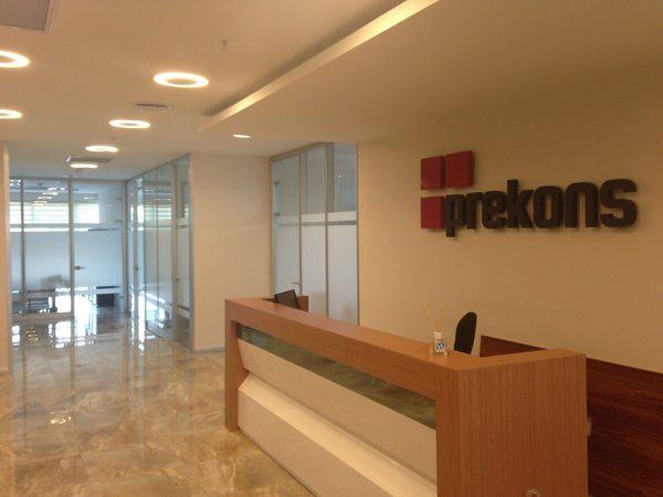 Prekons Ofis İçi Bölme Sistemleri