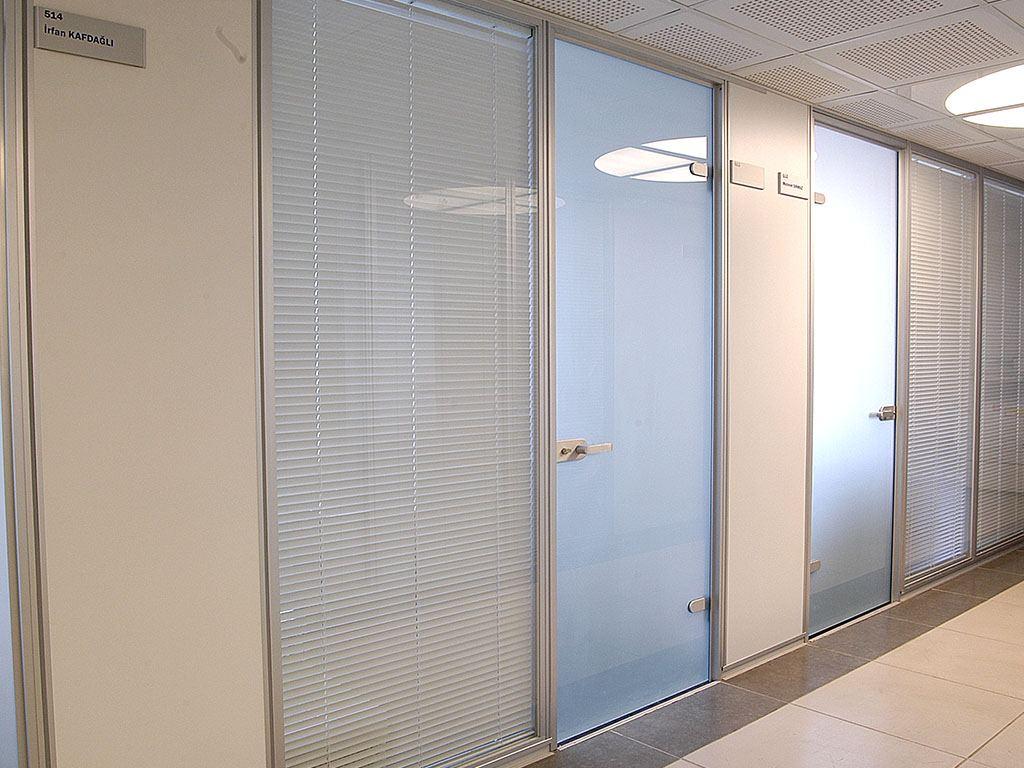 Bina içi Modüler Bölme Sistemleri Referansı İçtaş