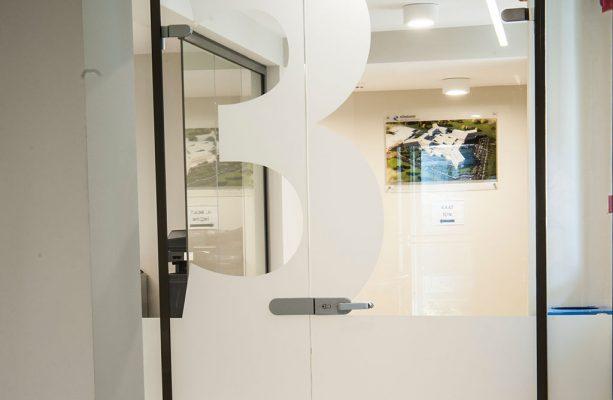 Ofis İçi Cam Kapı Sistemi