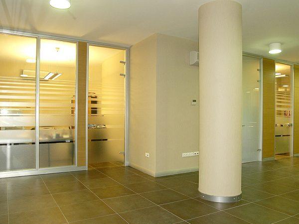 İş Merkezi Ofis İçi Modüler Bölme Sistemi