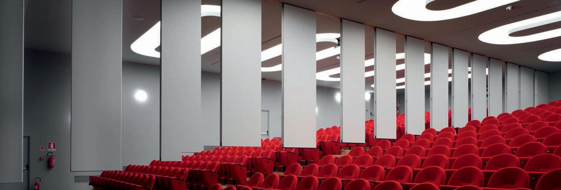 Konferans Salonu Hareketli Duvar Bölme Sistemi