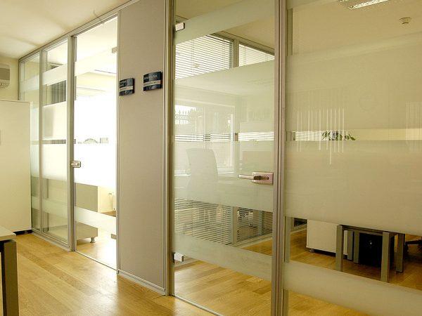 Camlı Ofis Bölme Sistemi