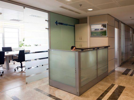 Ofis içi Modüler Bölme Sistemleri Referans