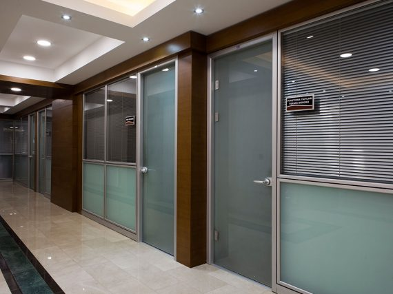 Camlı Ofis İçi Modüler Bölme Sistemleri