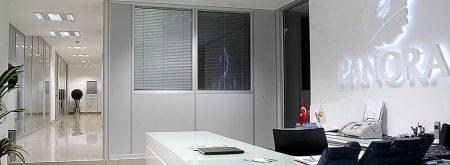 AVM Ofis içi Modüler Bölme Sistemleri