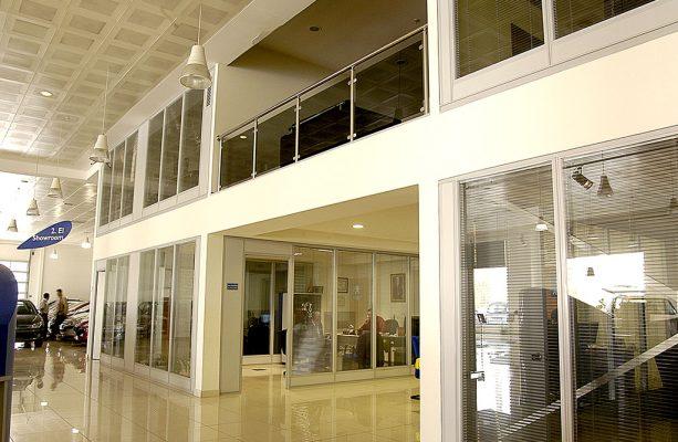 Çift Cam Arası Jaluzili Ofis Duvar Bölme Sistemleri