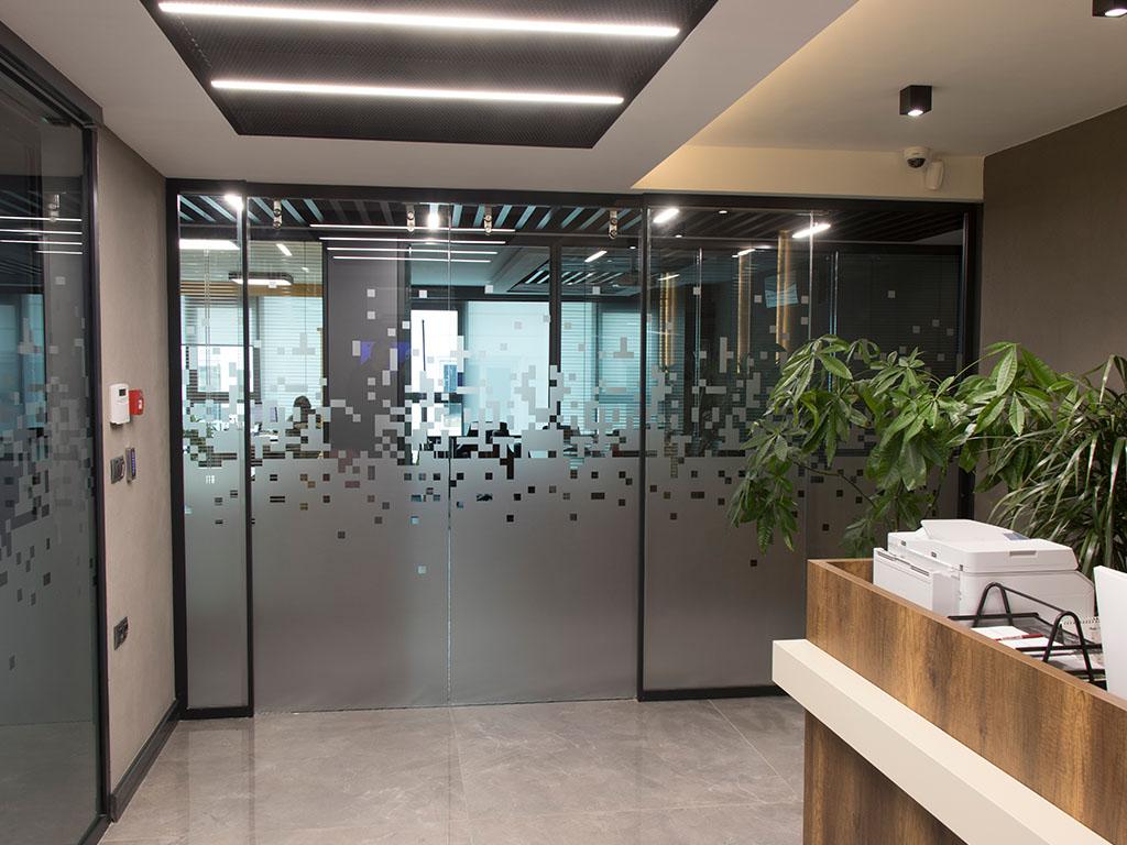 cam cama ofis bölme ve kapı sistemleri