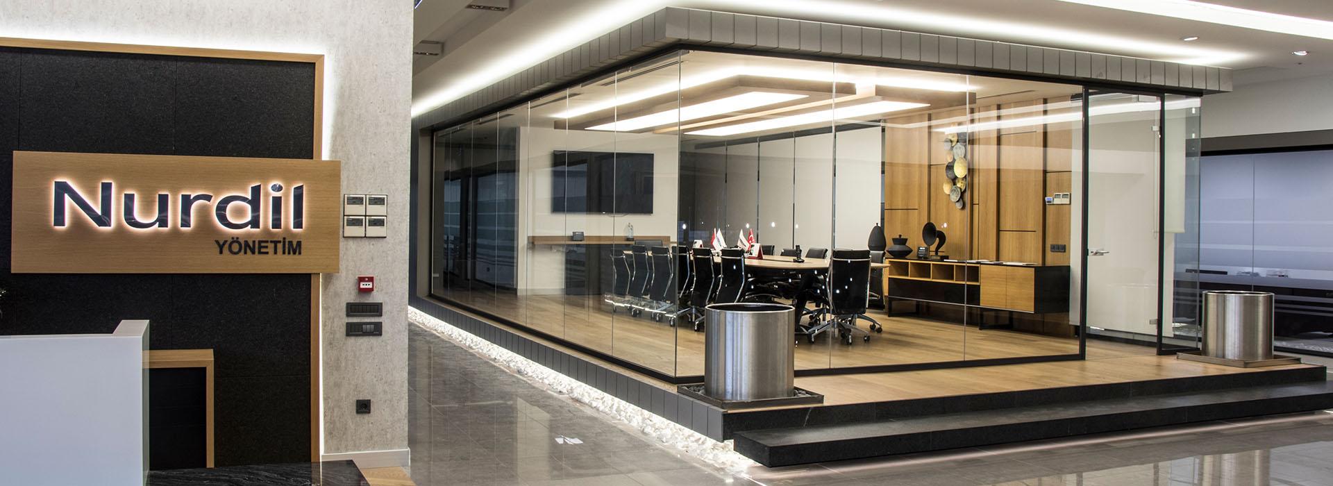 modüler ofis bölme sistemleri proje